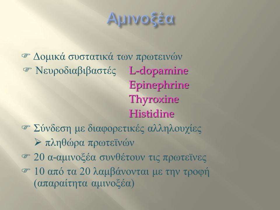 Αμινοξέα