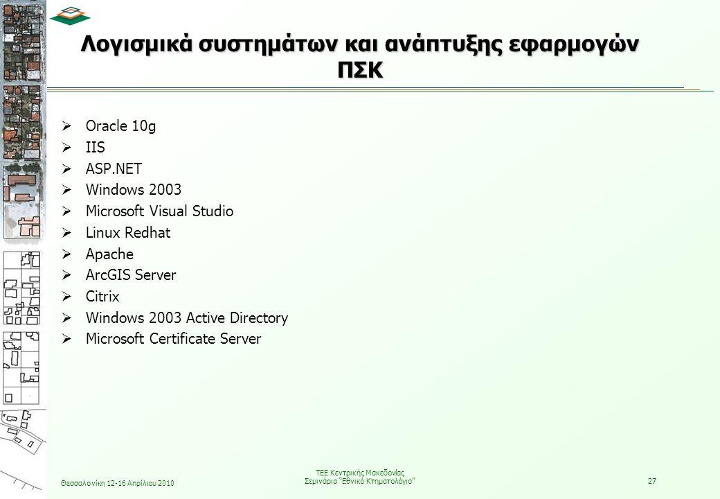 Λογισμικά συστημάτων και ανάπτυξης εφαρμογών ΠΣΚ