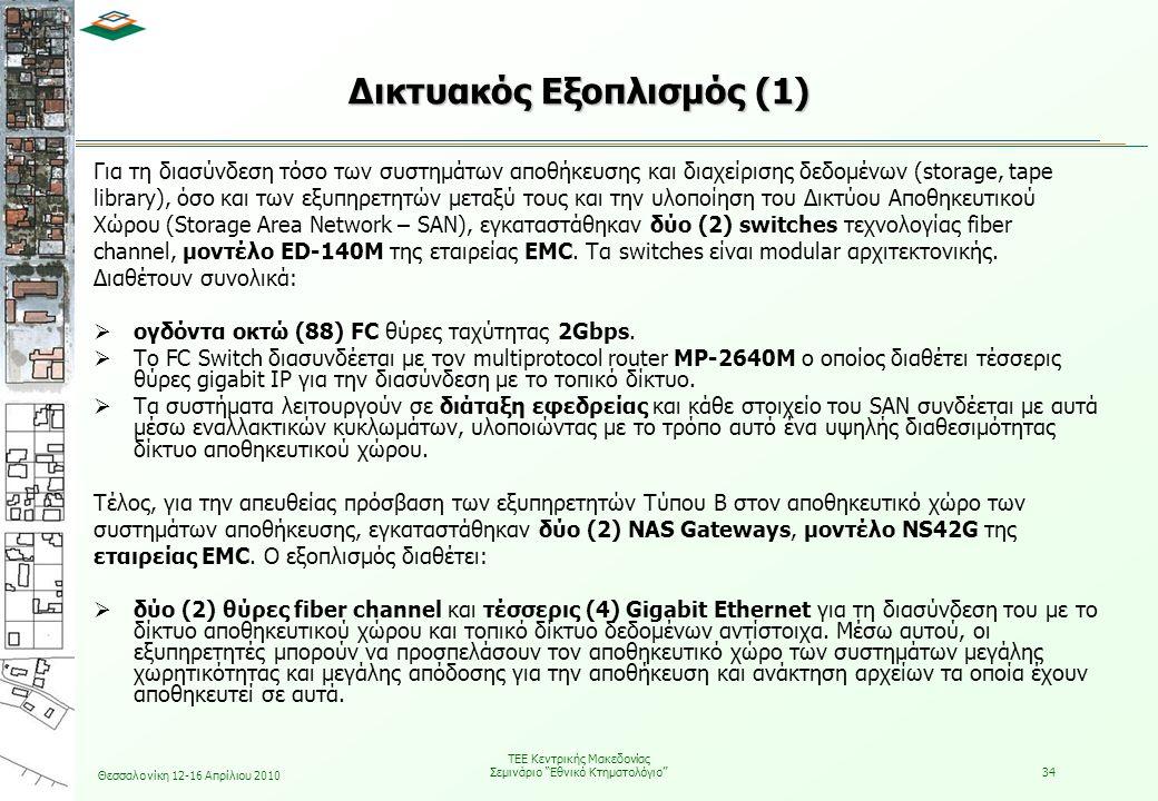 Δικτυακός Εξοπλισμός (1)