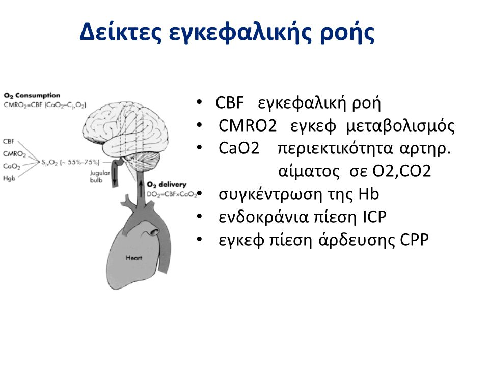 Δείκτες εγκεφαλικής ροής