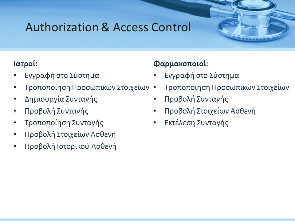 Authorization & Access Control