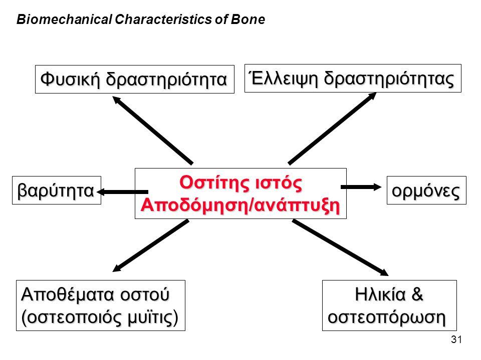 Οστίτης ιστός Αποδόμηση/ανάπτυξη