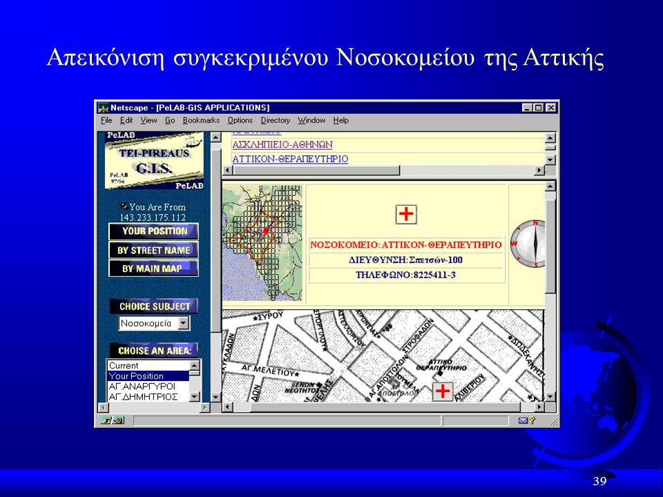 Απεικόνιση συγκεκριμένου Νοσοκομείου της Αττικής