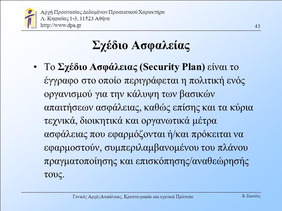 Σχέδιο Ασφαλείας