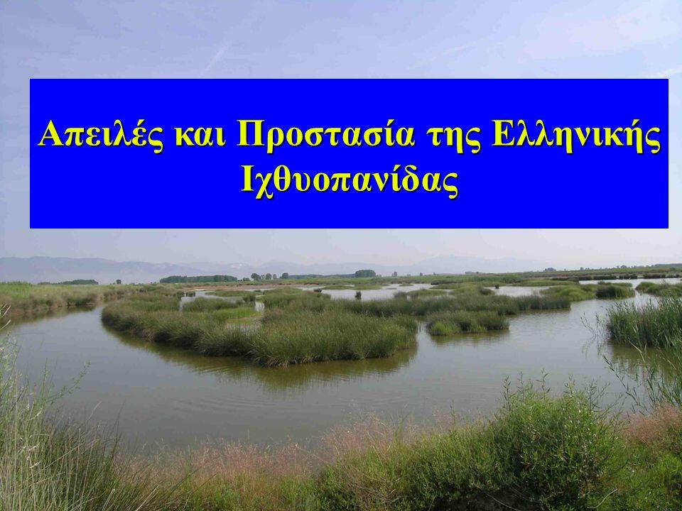 Απειλές και Προστασία της Ελληνικής Ιχθυοπανίδας