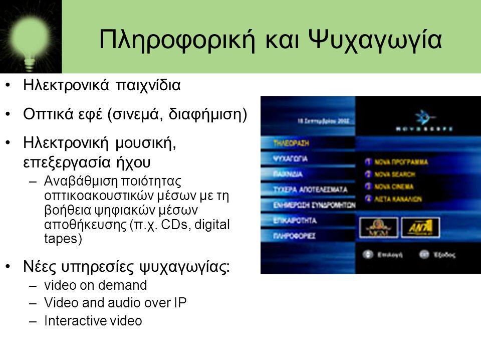 Πληροφορική και Ψυχαγωγία