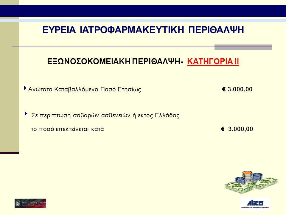 ΕΥΡΕΙΑ ΙΑΤΡΟΦΑΡΜΑΚΕΥΤΙΚΗ ΠΕΡΙΘΑΛΨΗ