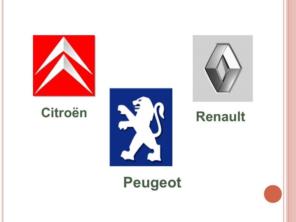 Citroën Renault Peugeot