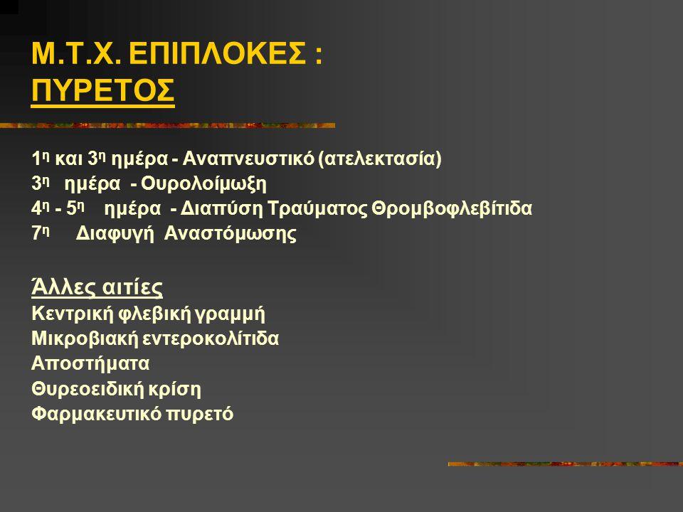 Μ.Τ.Χ. ΕΠΙΠΛΟΚΕΣ : ΠΥΡΕΤΟΣ