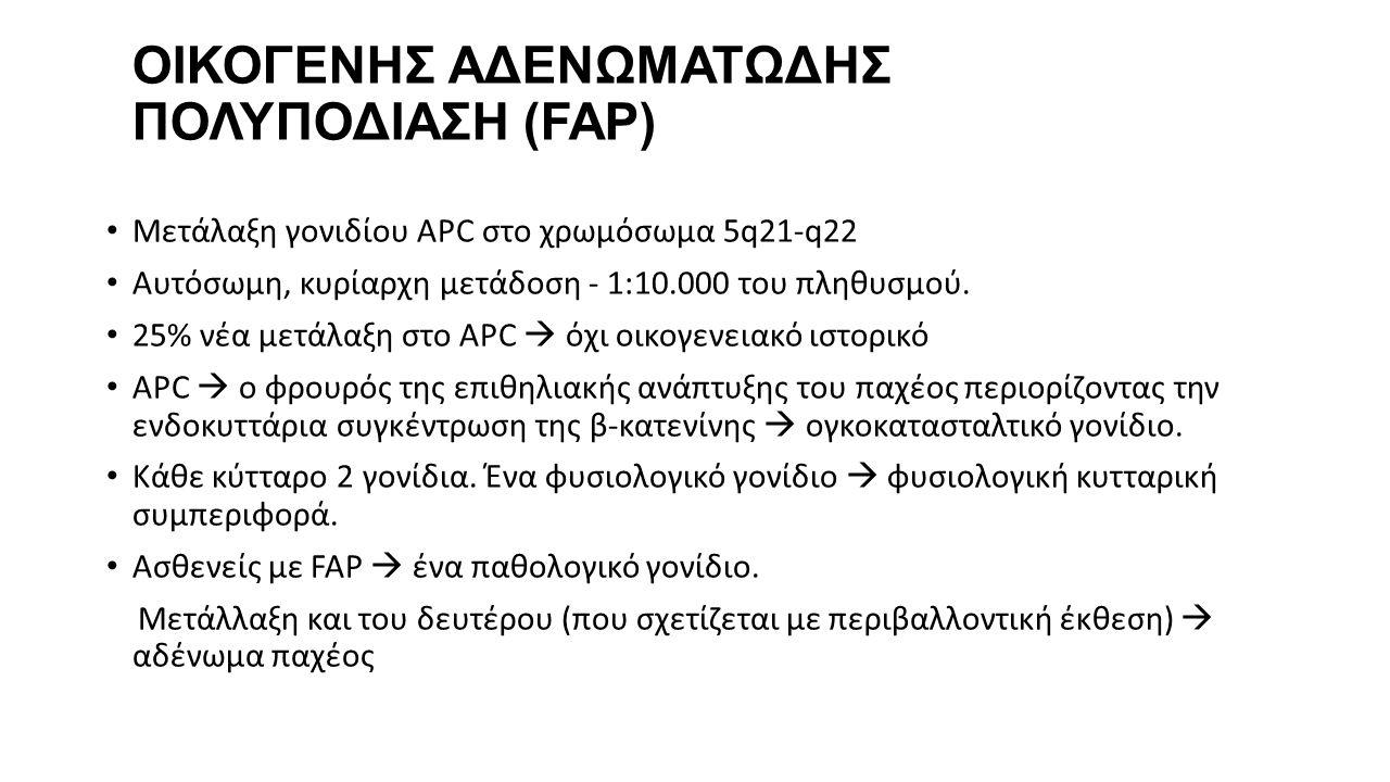 ΟΙΚΟΓΕΝΗΣ ΑΔΕΝΩΜΑΤΩΔΗΣ ΠΟΛΥΠΟΔΙΑΣΗ (FAP)