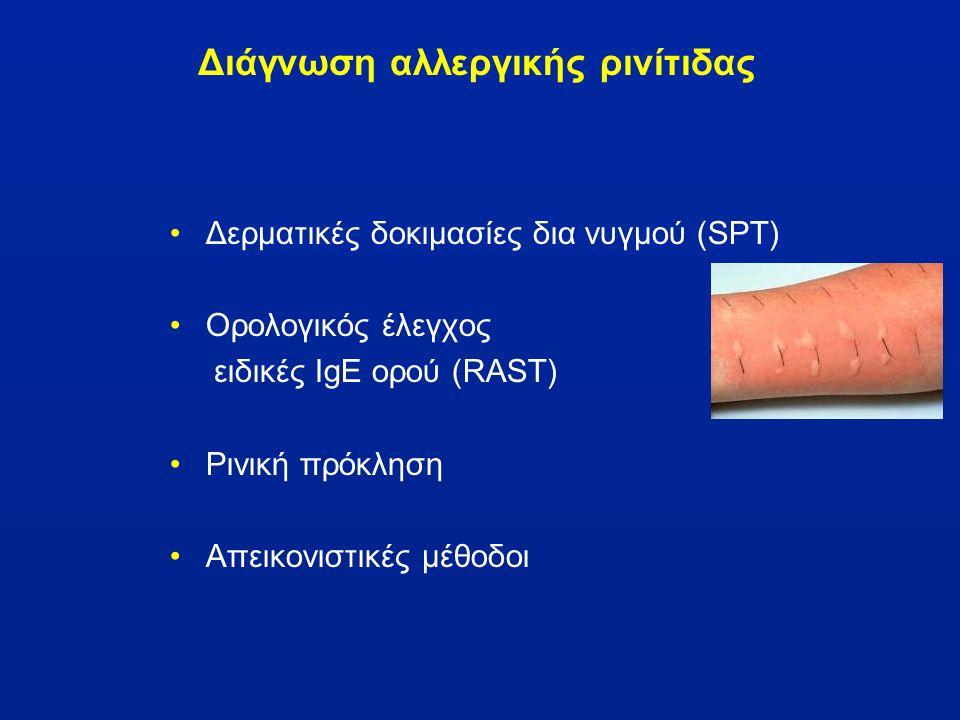 Διάγνωση αλλεργικής ρινίτιδας