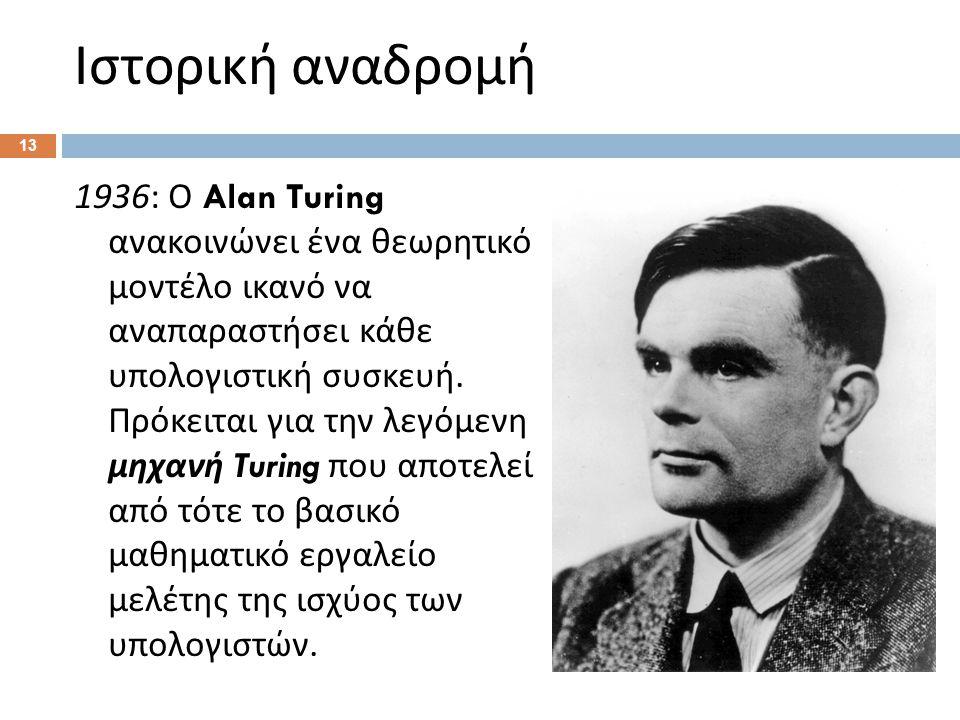 Παρένθεση Τι είναι το Turing test