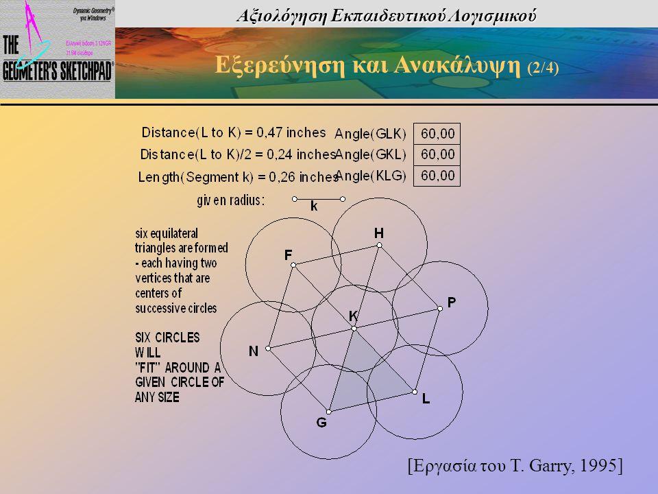 Αξιολόγηση Εκπαιδευτικού Λογισμικού Εξερεύνηση και Ανακάλυψη (2/4)