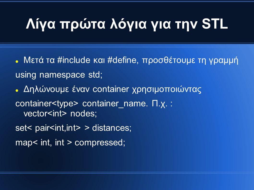 Λίγα πρώτα λόγια για την STL