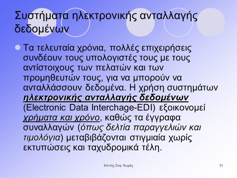 Συστήματα ηλεκτρονικής ανταλλαγής δεδομένων