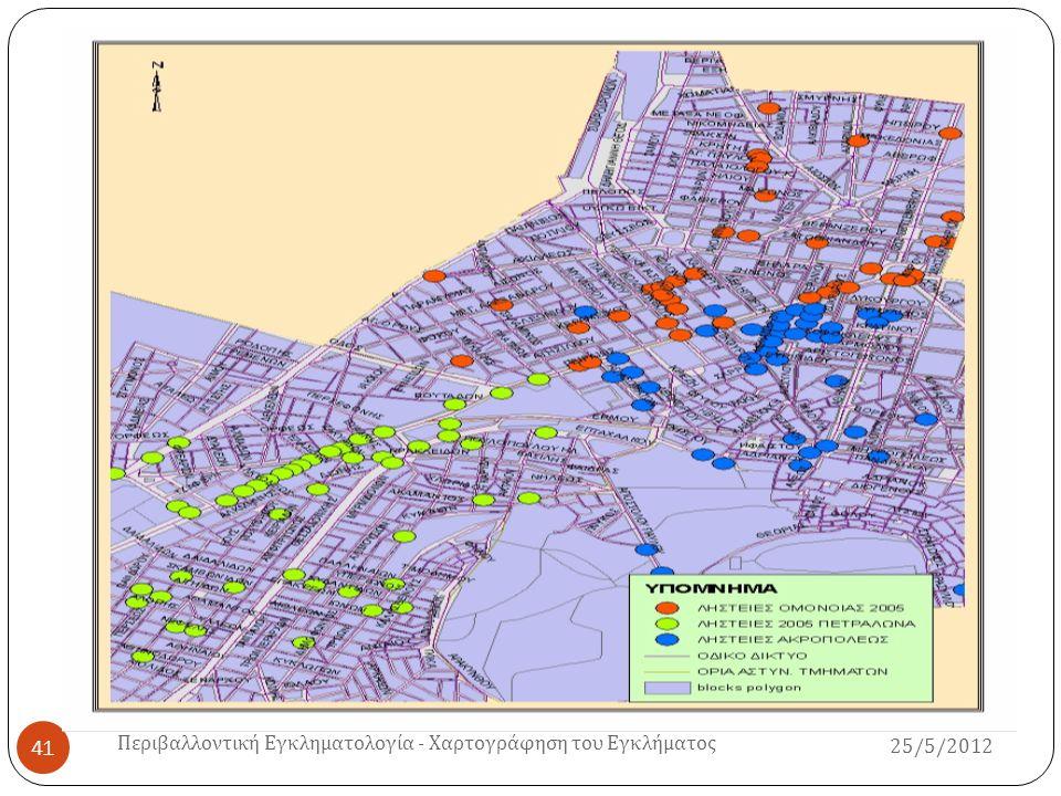 Περιβαλλοντική Εγκληματολογία - Χαρτογράφηση του Εγκλήματος