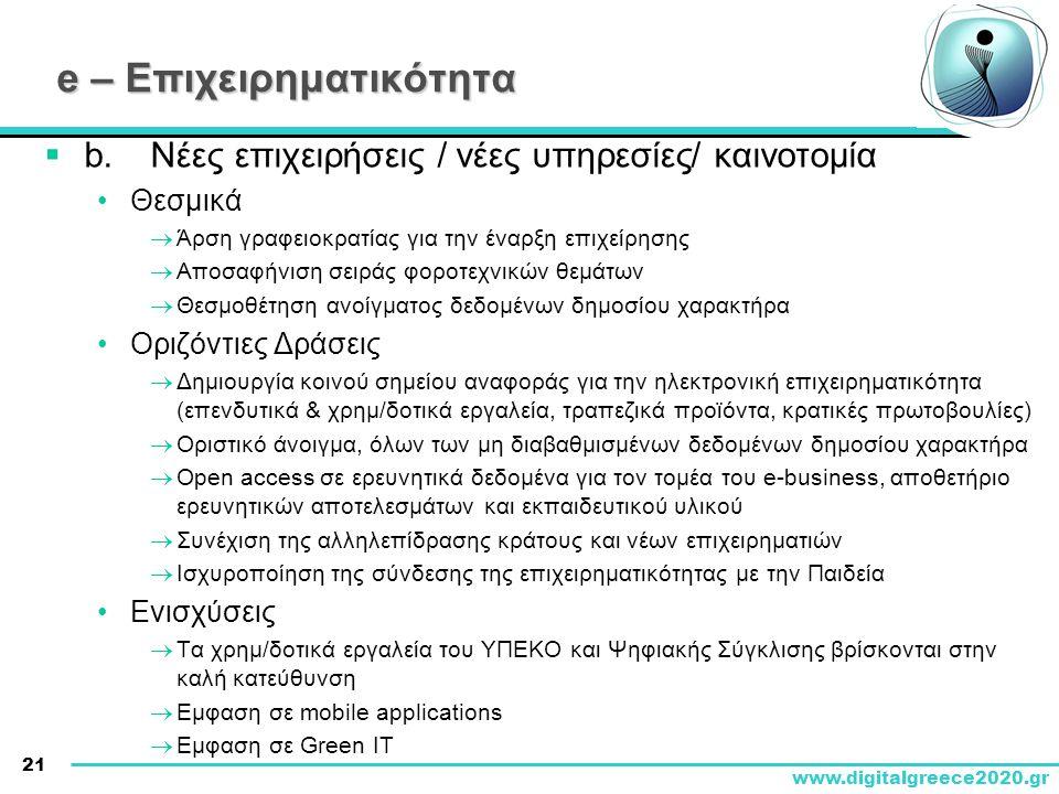 e – Επιχειρηματικότητα
