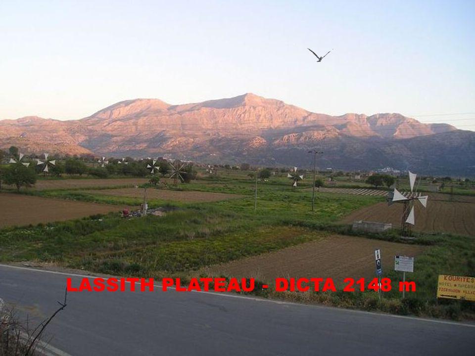 LASSITH PLATEAU - DICTA 2148 m