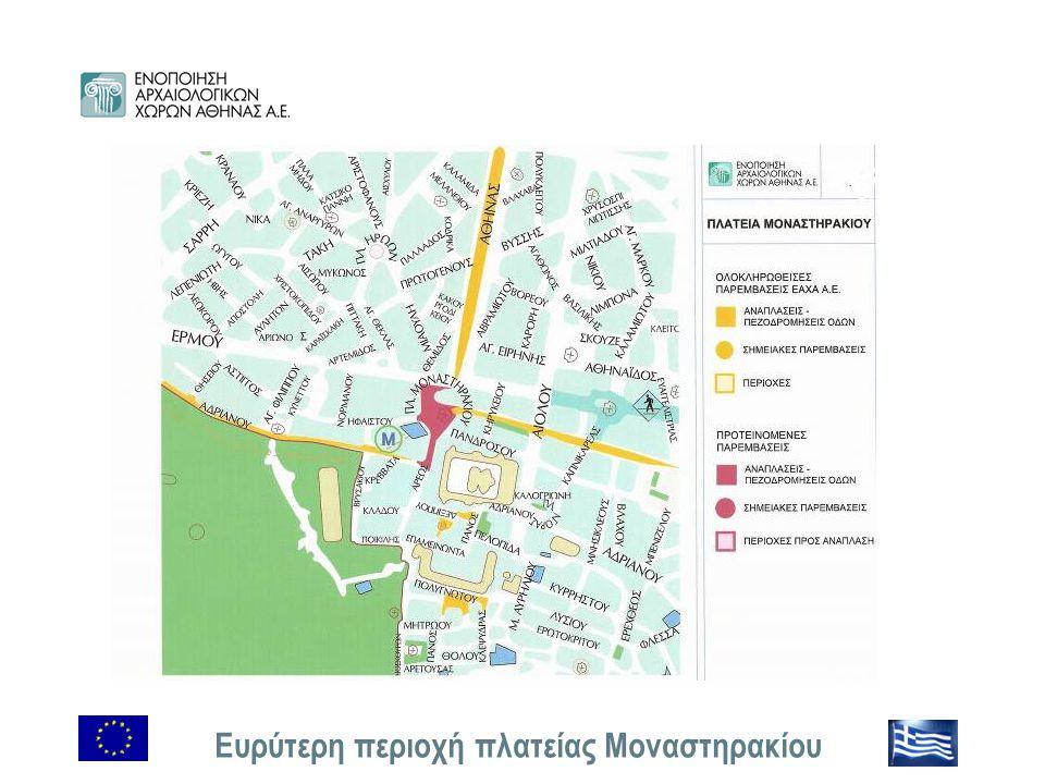 Ευρύτερη περιοχή πλατείας Μοναστηρακίου