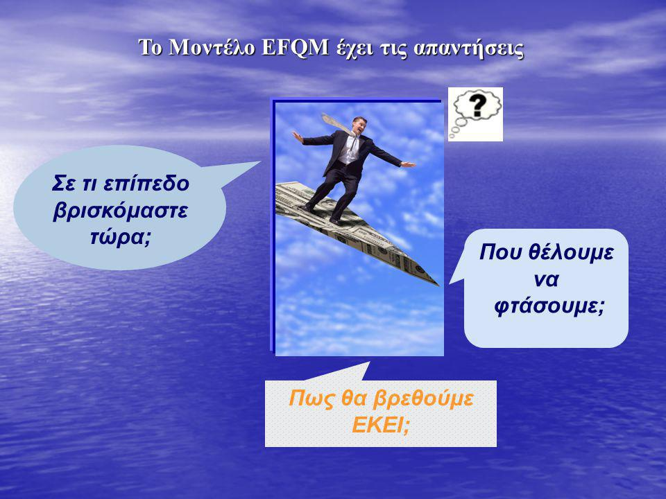 Το Μοντέλο EFQM έχει τις απαντήσεις