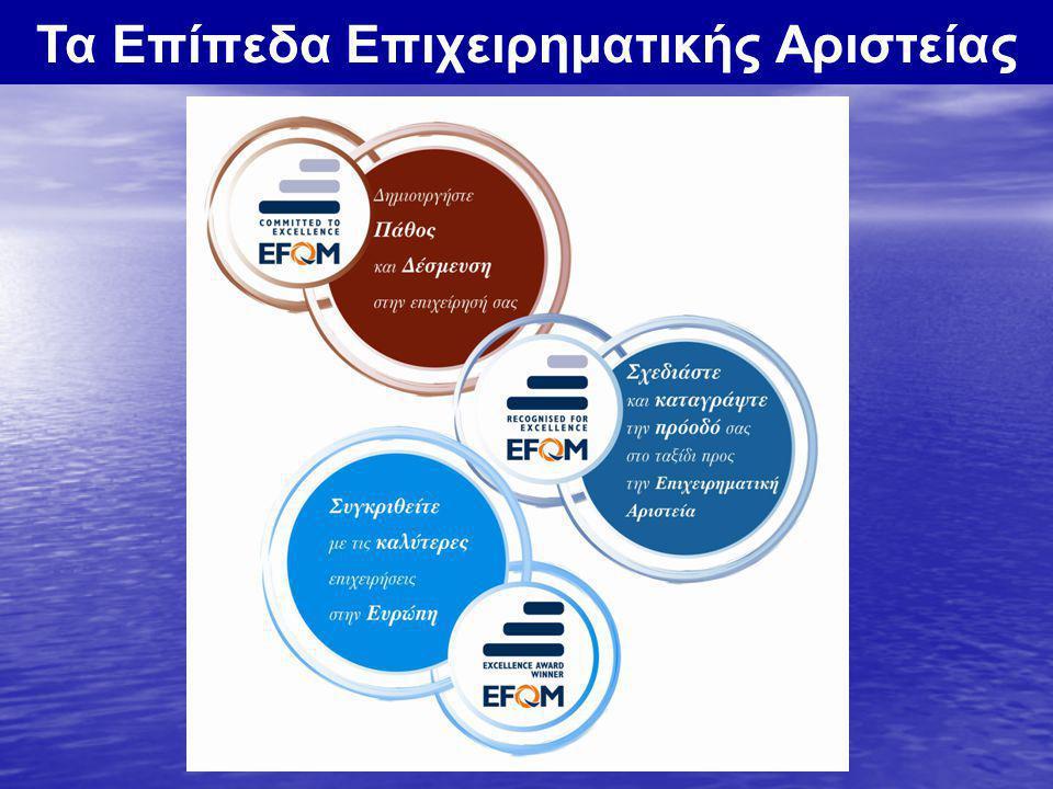 Τα Επίπεδα Επιχειρηματικής Αριστείας