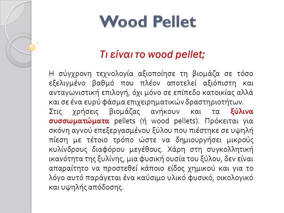 Τι είναι το wood pellet;