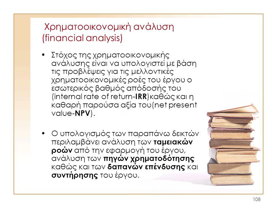 Χρηματοοικονομική ανάλυση (financial analysis)