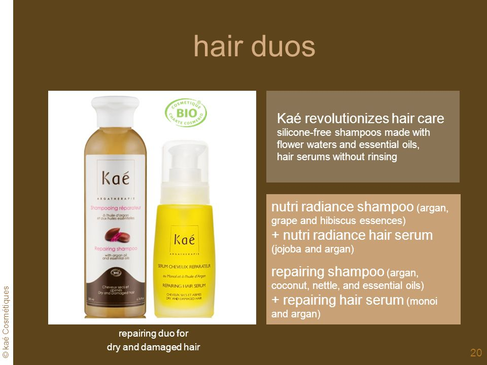 hair duos Kaé revolutionizes hair care