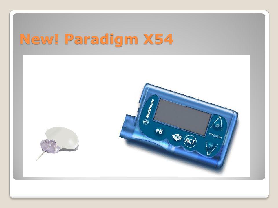 New! Paradigm X54