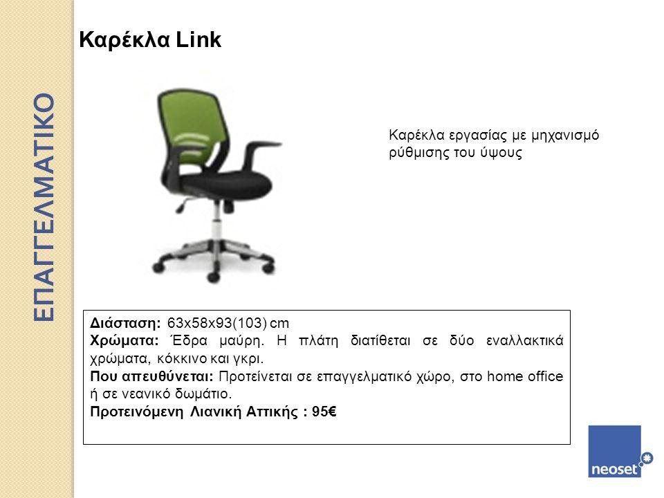 ΕΠΑΓΓΕΛΜΑΤΙΚΟ Καρέκλα Link