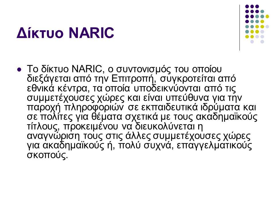 Δίκτυο NARIC