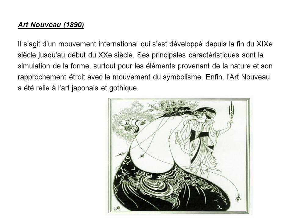 Art Nouveau (1890)