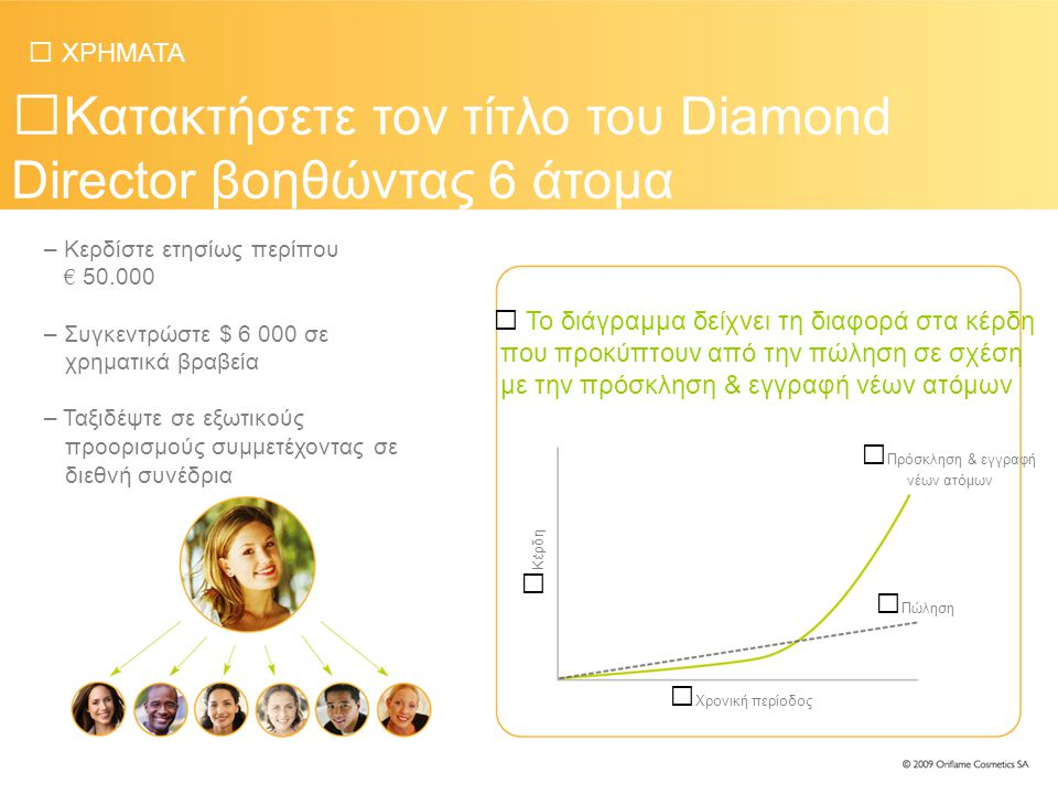 Κατακτήσετε τον τίτλο του Diamond Director βοηθώντας 6 άτομα