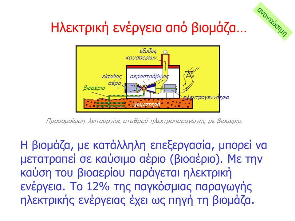Ηλεκτρική ενέργεια από βιομάζα…