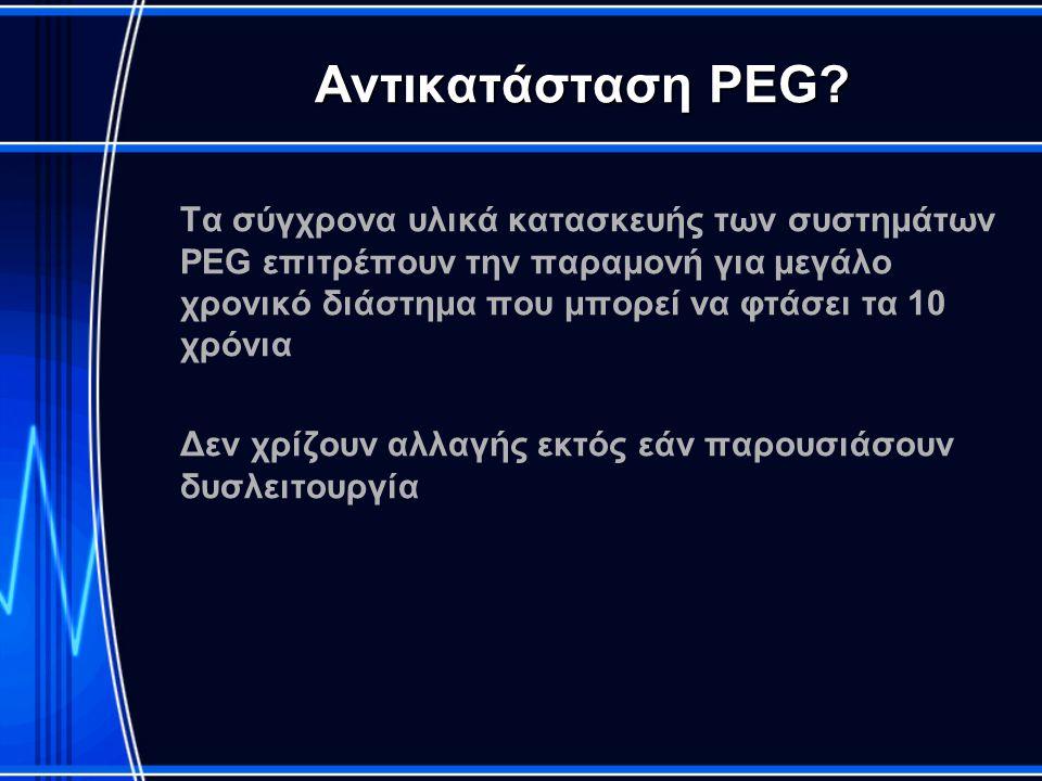 Αντικατάσταση PEG