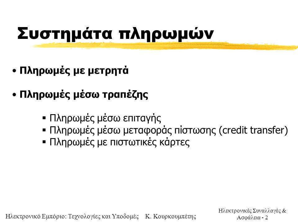 Συστημάτα πληρωμών Πληρωμές με μετρητά Πληρωμές μέσω τραπέζης