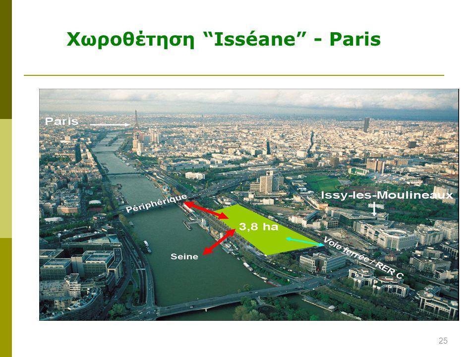 Χωροθέτηση Isséane - Paris