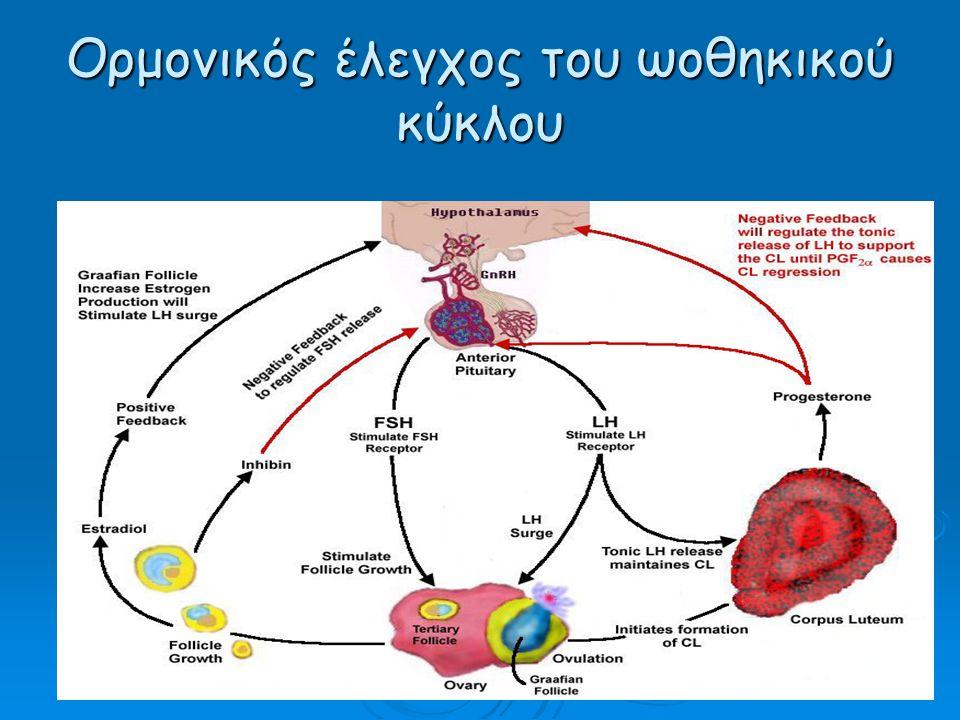 Ορμονικός έλεγχος του ωοθηκικού κύκλου