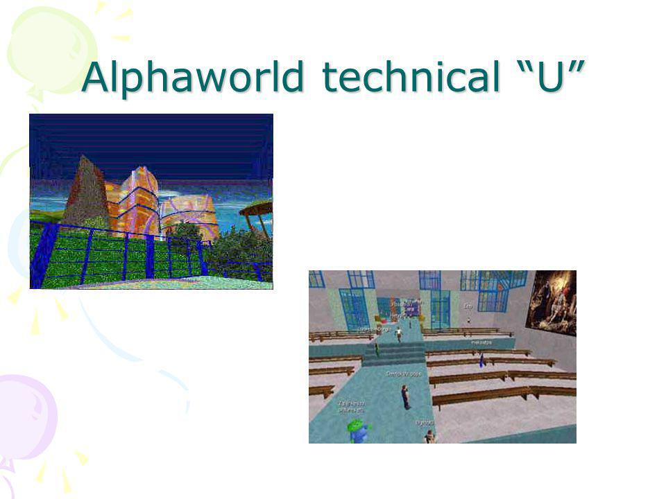 Alphaworld technical U