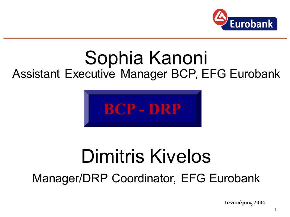 Sophia Kanoni Dimitris Kivelos BCP - DRP