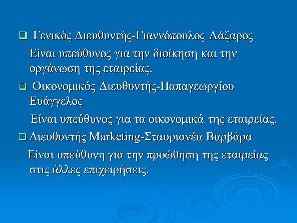 Γενικός Διευθυντής-Γιαννόπουλος Λάζαρος