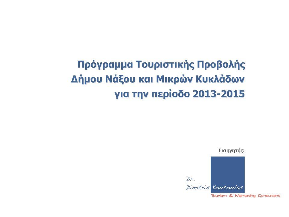 Πρόγραμμα Τουριστικής Προβολής Δήμου Νάξου και Μικρών Κυκλάδων