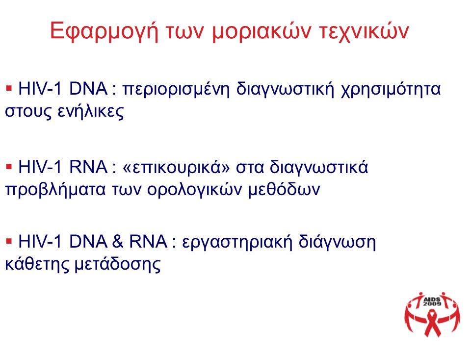 Εφαρμογή των μοριακών τεχνικών