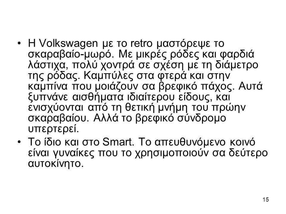 Η Volkswagen με το retro μαστόρεψε το σκαραβαίο-μωρό