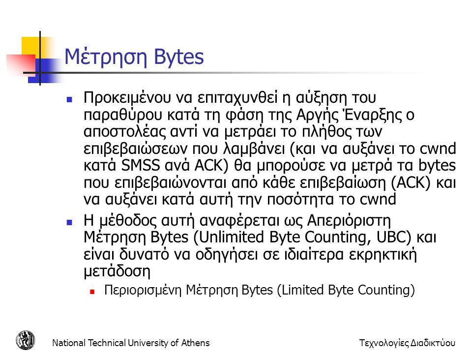 Μέτρηση Bytes