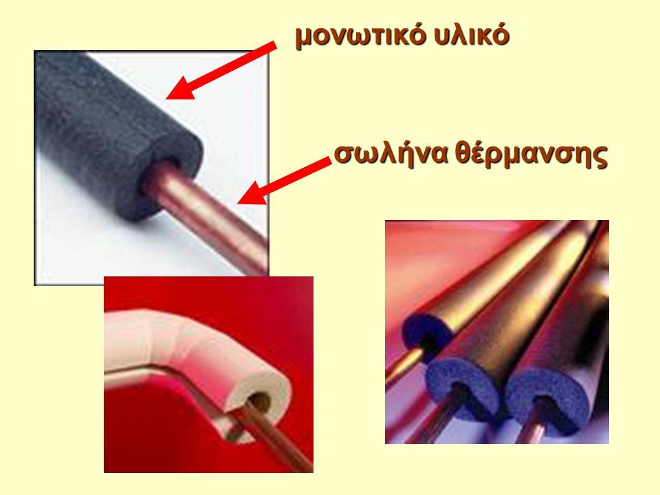 μονωτικό υλικό σωλήνα θέρμανσης