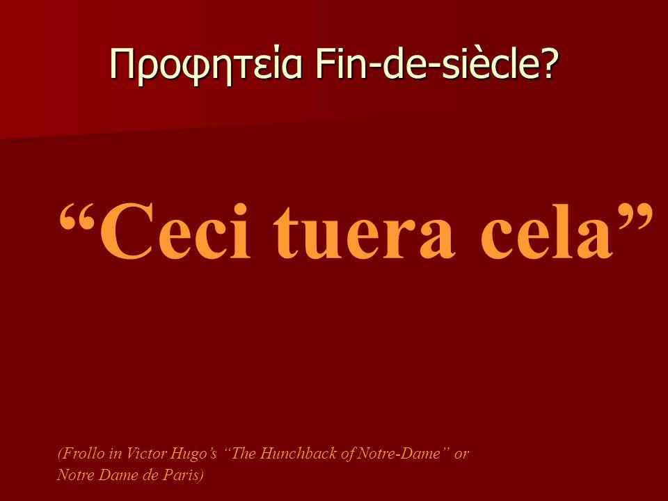 Προφητεία Fin-de-siècle