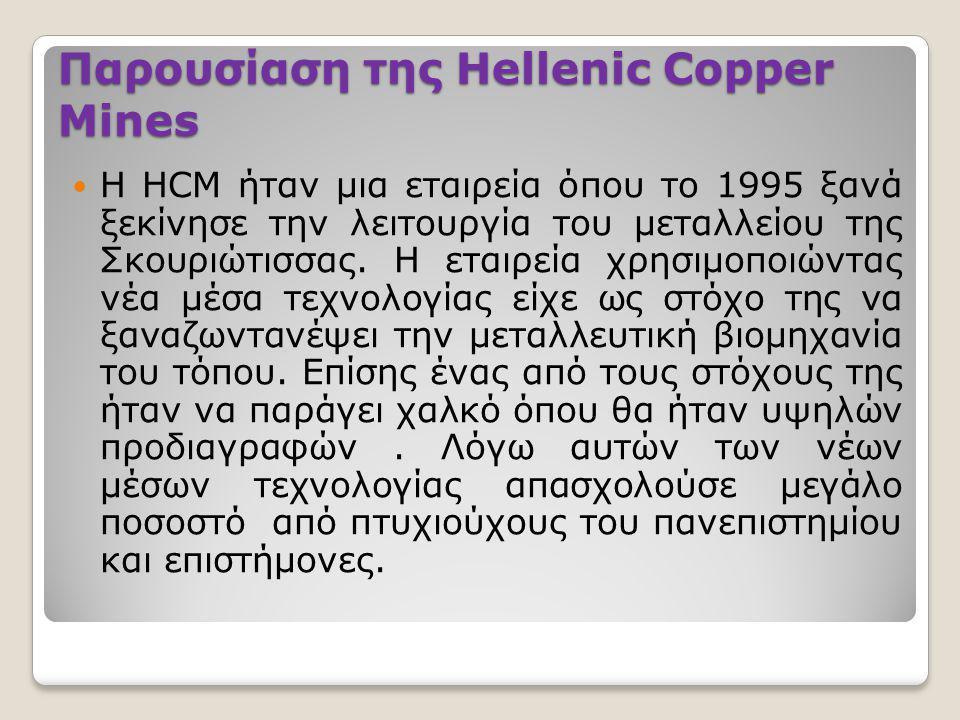 Παρουσίαση της Hellenic Copper Mines