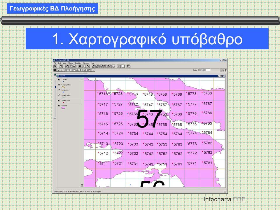 1. Χαρτογραφικό υπόβαθρο
