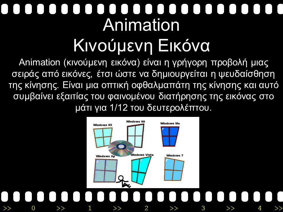 Animation Κινούμενη Εικόνα